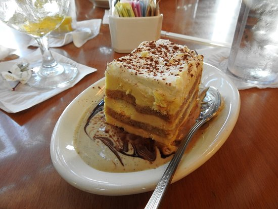 Panini's on the Waterfront: Tiramisu that will make you glad you ordered dessert.