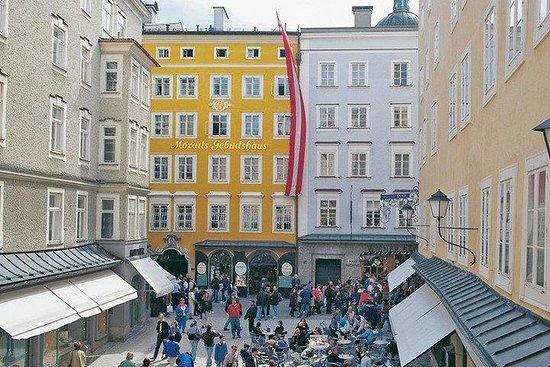 Mozart's Birthplace Salzburg Entrance...