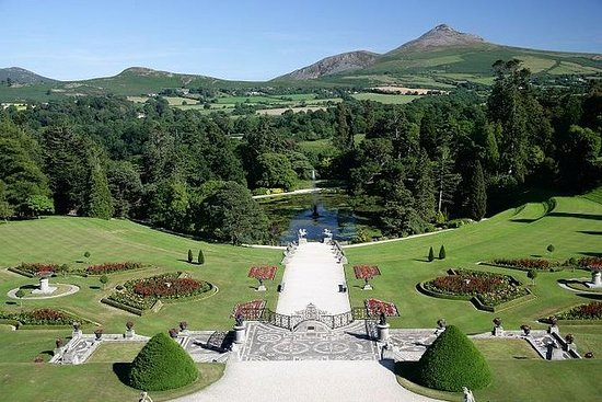 Powerscourt House and Gardens...