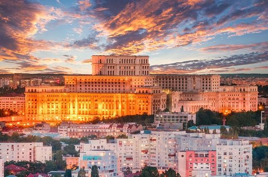 Parlamentspaladset i Bukarest