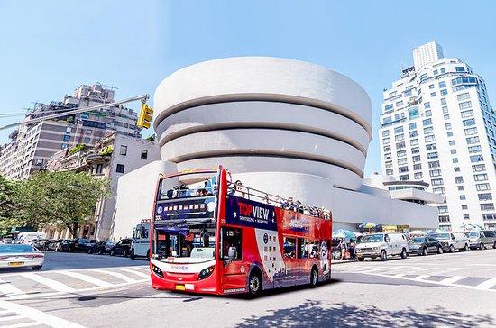 ニューヨーク観光ダブルデッカーバスツアーとNYCリバティークルーズ
