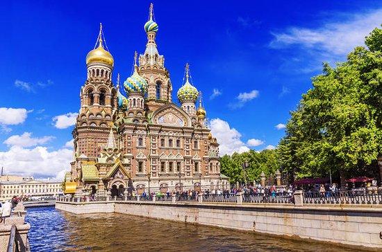 Tour de ville de Saint-Pétersbourg...