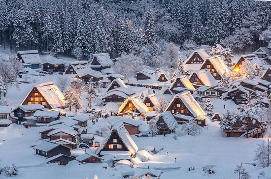 Private Tour of Shirakawago and...