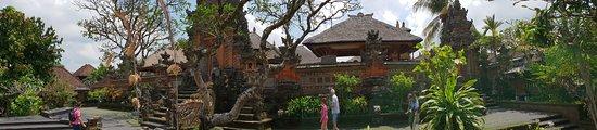 Saraswati Temple: Panoramic view of temple
