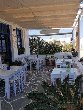 Ялос, Греция: veranda colazione