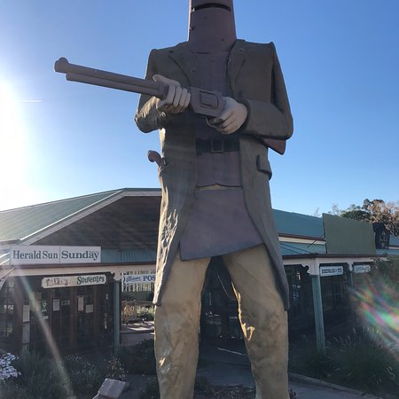 The Big Ned Kelly Statue: photo0.jpg