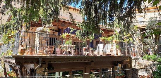 La Puebla de Roda, Spania: Terrasse