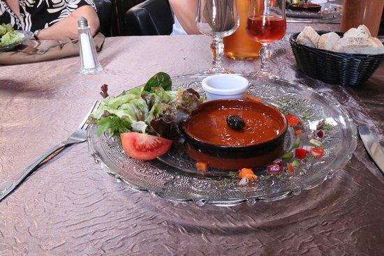 Le Galion : Entrée,Caviar d'aubergines