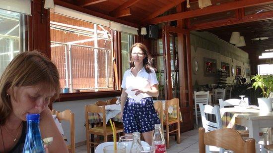 Phivos Restaurant : Velmi ochotná a milá obsluha
