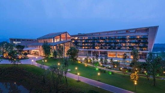 Meishan, China: Exterior
