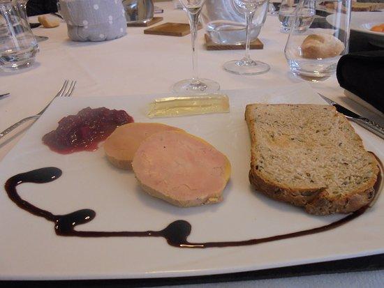 Coulanges-la-Vineuse, Γαλλία: foie gras de canard mi cuit