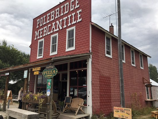 Polebridge, MT: Store front