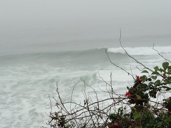 Nauset Beach: Quite a bit of wave action on this day