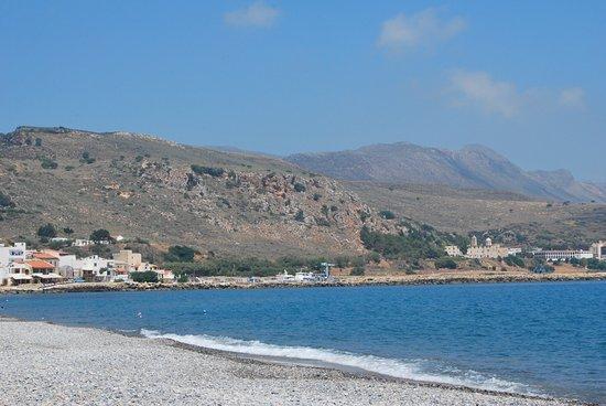 Kolymbari, Grecia: θέα στη Μονή