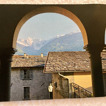 Ponte in Valtellina, Italie : Un bel biglietto da visita