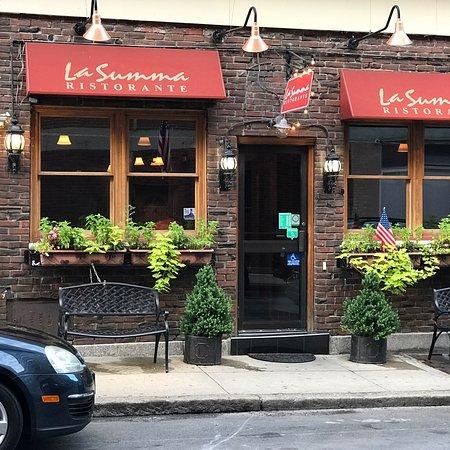 La summa cucina italiana boston north end menu for La cucina italiana