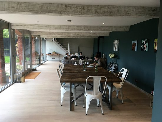 Colwall, UK: The breakfast area