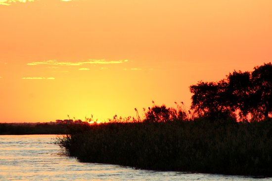 Brenton-on-Sea, South Africa: Botswana sunset.