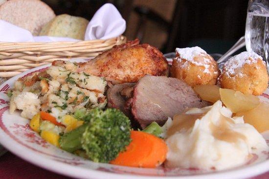 Orrtanna, PA: Roast Beef Dinner