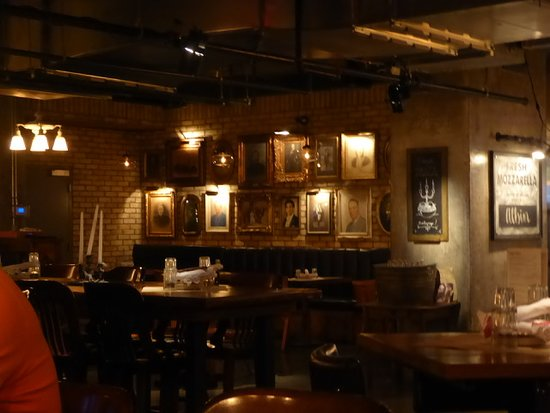 Scaddabush Italian Kitchen \u0026 Bar: Una sala del ristorante & Front of the restaurant looking north west - Picture of Scaddabush ...