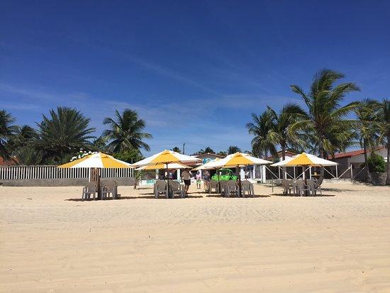 Praia de Genipabu: Vista linda