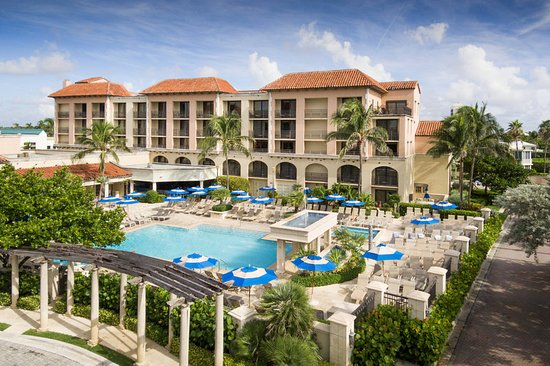 Map Of Delray Beach Hotels And Attractions On A Delray Beach Map