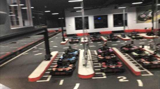 Go Karts!!!!! - Picture of R1 Indoor Karting, Lincoln