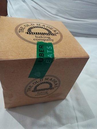 The Old Madras Baking Company: Box