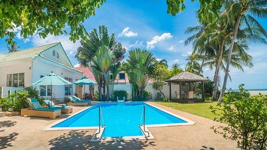 Shiva Samui: Baan Rim Haad - Luxury 3 Bedroom Beachfront Villa