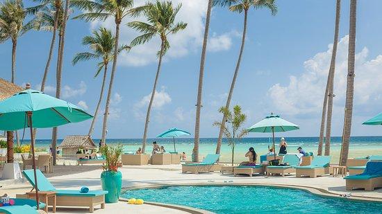 Shiva Samui: Shiva Beach Club - 800 meters of soft white sand beach.