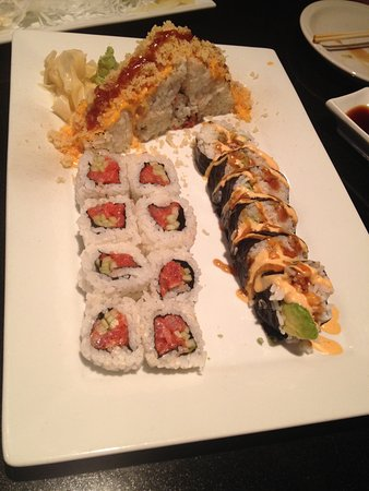 Parma, OH: Sushi is just right portion size