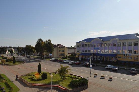 Astravyets, Białoruś: Вид из окна