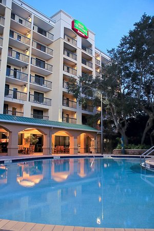 Poor Shuttle Service Package Review Of Courtyard Cocoa Beach Cape Canaveral Fl Tripadvisor