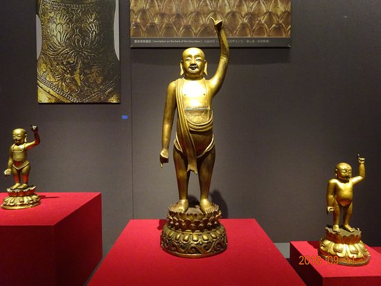 Southern Branch of the National Palace Museum: お釈迦様の誕生仏