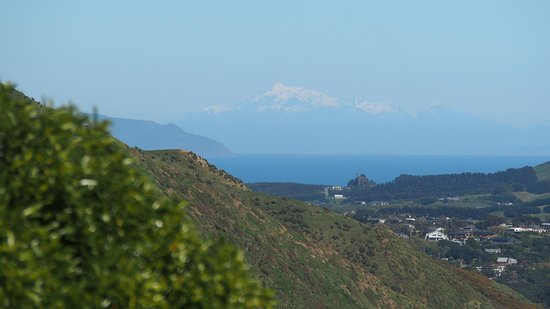 Paekakariki, Neuseeland: View to kaikouras heading south