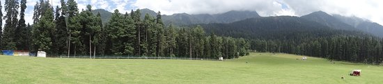 Anantnag District, India: Panoramic view of the valley