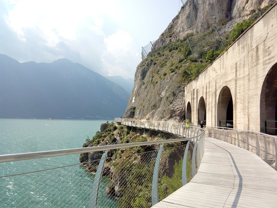 Limone sul Garda, Italien: panorama pista