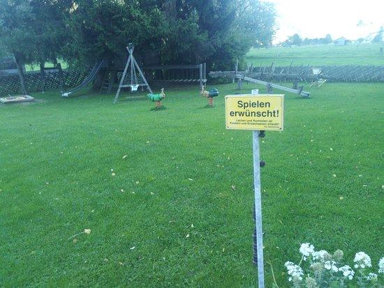 Maishofen, Αυστρία: hier ist Spielen nicht verboten