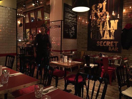 Spíler Original: Interno del ristorante