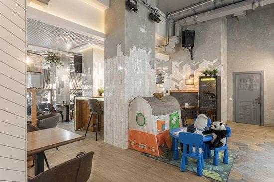 Kudrovo, Russland: Детская игровая