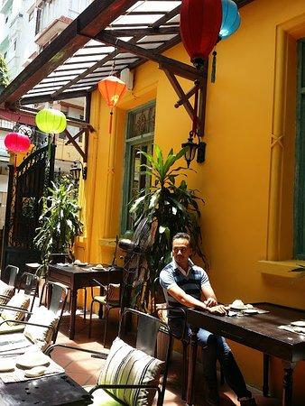 Home Hanoi Restaurant Outdoor Sitting