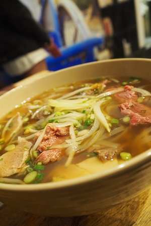 Pho Nomenon Combination Beef And Pork Soup Picture Of Mr Viet Adelaide Tripadvisor