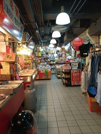 Zhongshan District, Taipei : 長春市場內一景