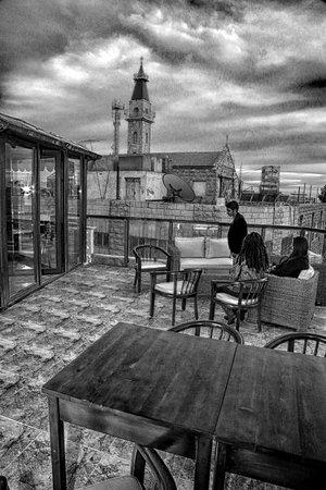 East terrace