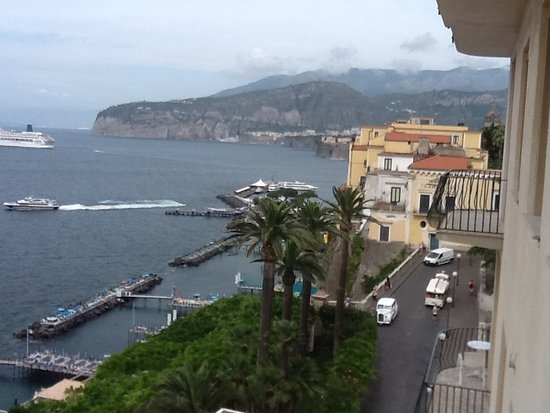 View from hotel if sorrento coast