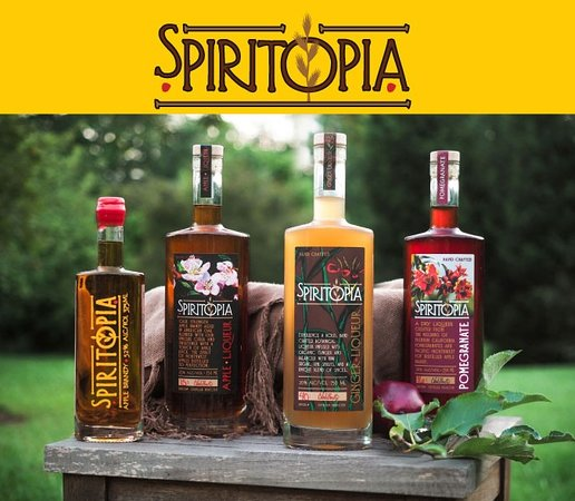 Corvallis, OR: Spiritopia's Award Winning Liqueurs and Brandy