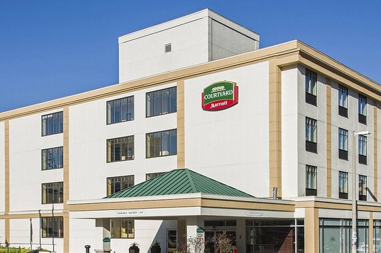 Great location & comfortable room! - Review of Courtyard by Marriott ...