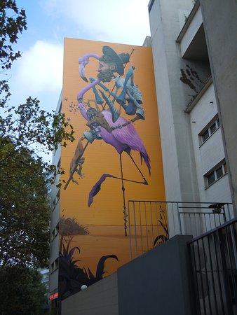 Fresque La Camargue