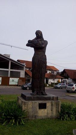 Escultura Bebe Esperanca