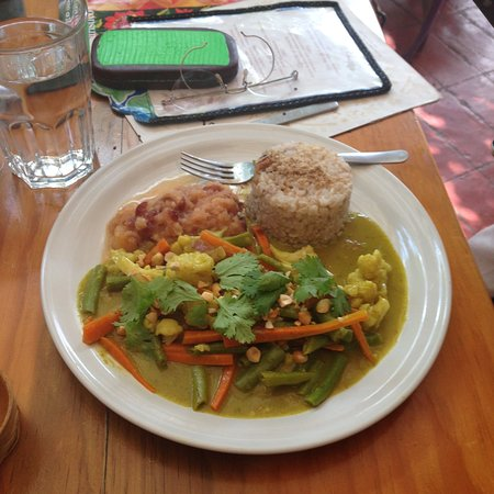 La Jicara: Veg curry